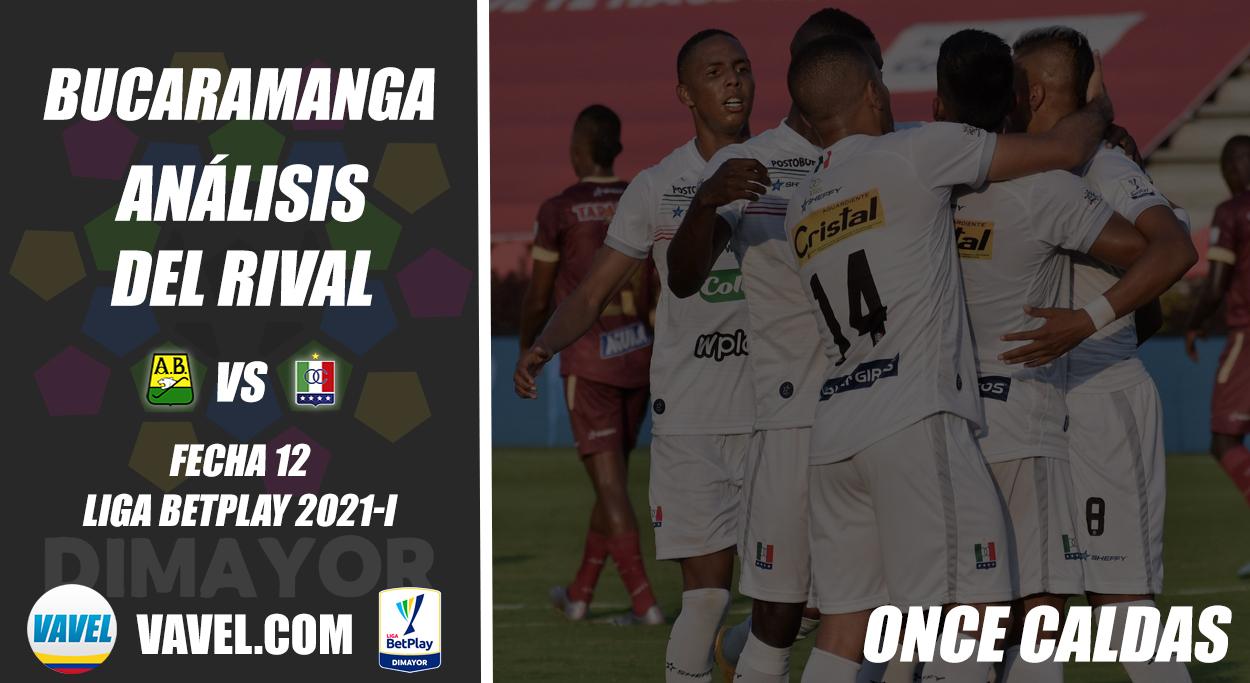 Atlético Bucaramanga, análisis del rival: Once Caldas (Fecha 12, Liga 2021-I)