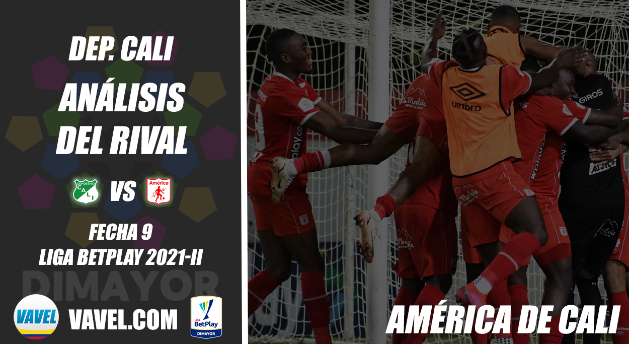 Deportivo Cali, análisis del rival: América de Cali (Fecha 9, Liga 2021-II)