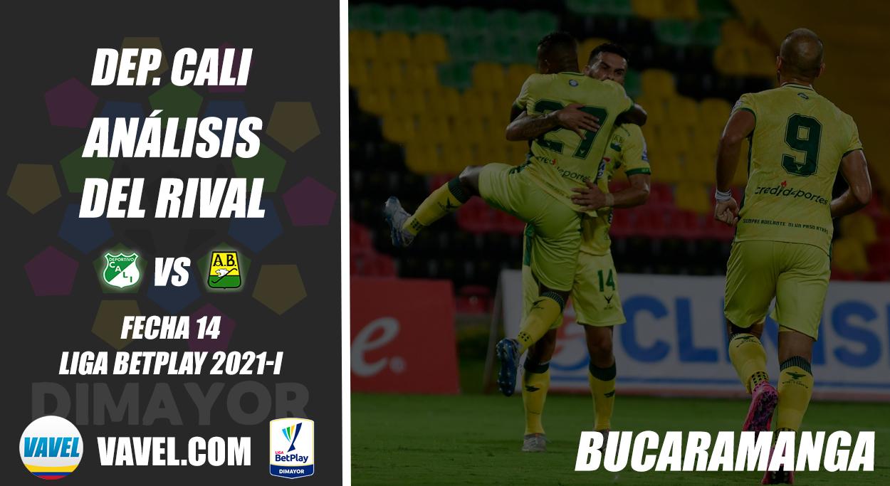 Deportivo Cali, análisis del rival: Atlético Bucaramanga (Fecha 14, Liga 2021-I)