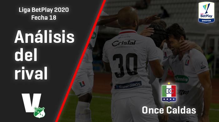 Deportivo Cali, análisis del rival: Once Caldas (Fecha 18, Liga 2020)