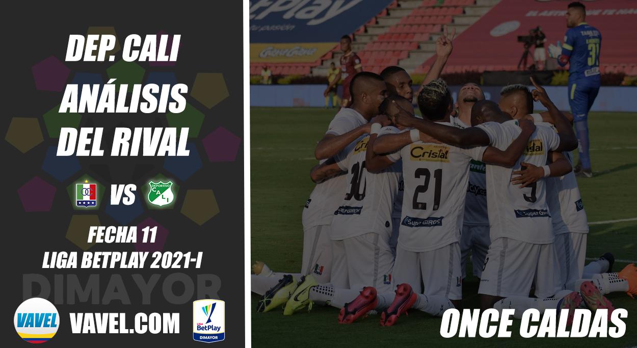 Deportivo Cali, análisis del rival: Once Caldas (Fecha 11, Liga 2021-I)