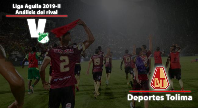 Deportivo Cali, análisis del rival: Deportes Tolima