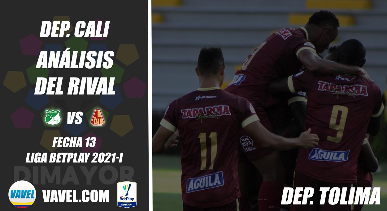 Deportivo Cali, análisis del rival: Deportes Tolima (Fecha 13, Liga 2021-I)