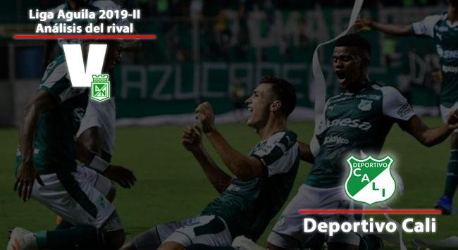 Atlético Nacional, análisis del rival: Deportivo Cali