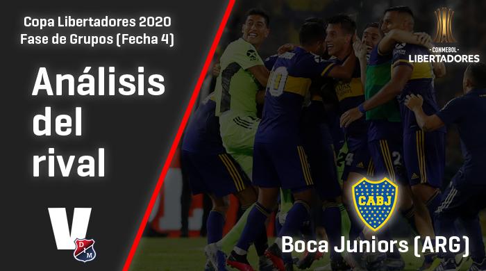 Independiente Medellín, análisis del rival: Boca Juniors (Fecha 4, Libertadores 2020)