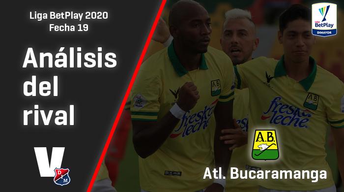 Independiente Medellín, análisis del rival: Atlético Bucaramanga (Fecha 19, Liga 2020)