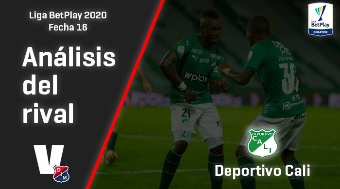 Independiente Medellín, análisis del rival: Deportivo Cali (Fecha 16, Liga 2020)