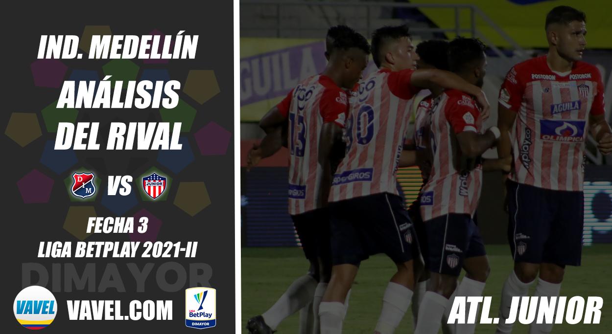 Independiente Medellín, análisis del rival: Junior de Barranquilla (Fecha 3, Liga 2021-II)