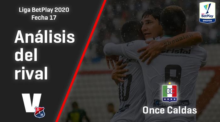 Independiente Medellín, análisis del rival: Once Caldas (Fecha 17, Liga 2020)