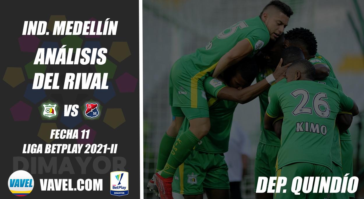Independiente Medellín, análisis del rival: Deportes Quindío (Fecha 11, Liga 2021-II)