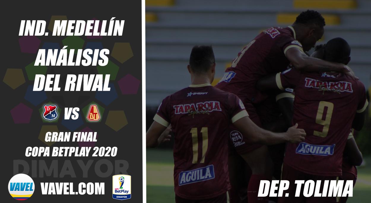 Independiente Medellín, análisis del rival: Deportes Tolima (Final, Copa 2020)