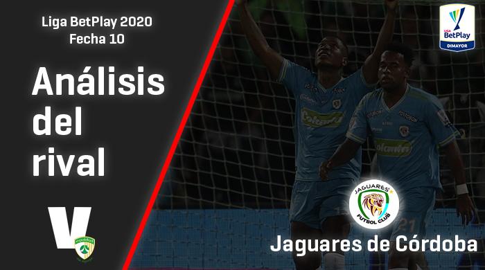 La Equidad, análisis del rival: Jaguares de Córdoba (Fecha 10, Liga 2020)