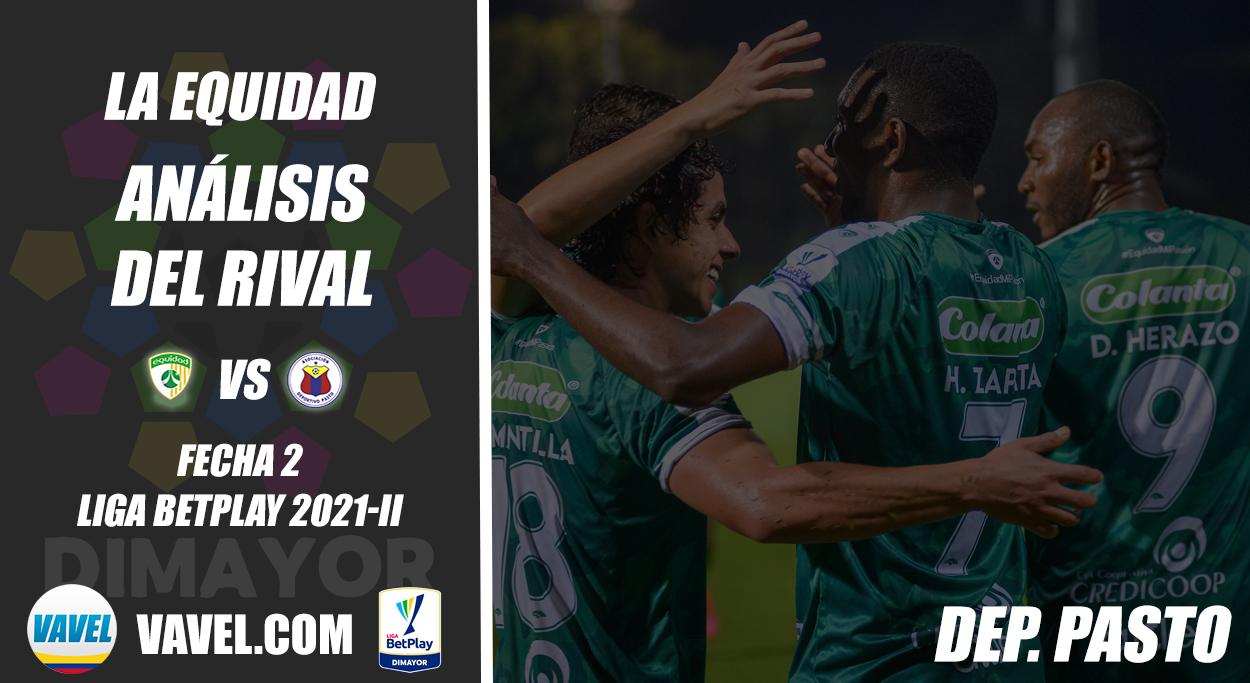 La Equidad Seguros, análisis del rival: Deportivo Pasto (Fecha 2, Liga 2021- II)