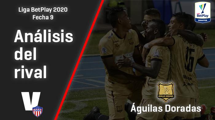 Junior de Barranquilla, análisis del rival: Águilas Doradas (Fecha 9, Liga 2020)