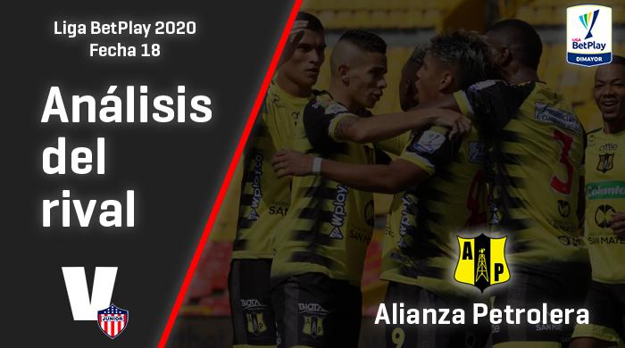 Junior, análisis del rival: Alianza Petrolera (Fecha 18, Liga 2020)