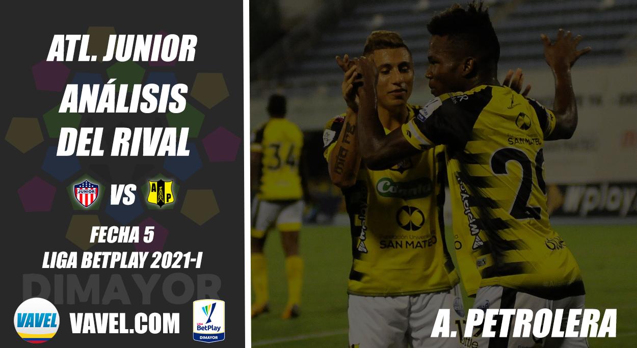 Junior, análisis del rival: Alianza Petrolera (Fecha 5 Liga BetPlay Dimayor 2021-I)