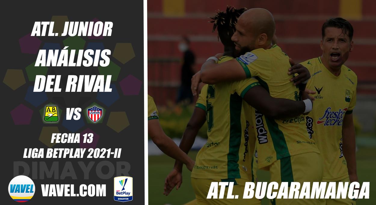 Junior de Barranquilla, análisis del rival: Atlético Bucaramanga (Fecha 13, Liga 2021-II)