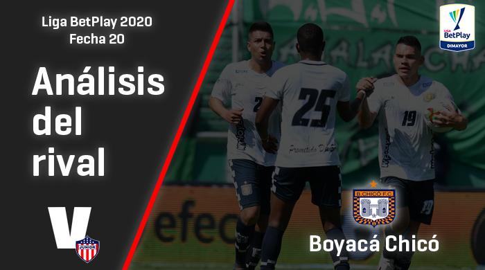 Junior de Barranquilla, análisis del rival: Boyacá Chicó (Fecha 20, Liga 2020)