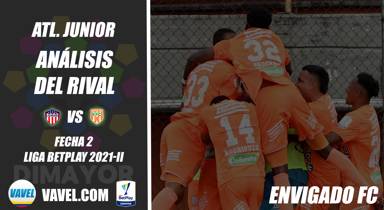 Junior de Barranquilla, análisis del rival: Envigado FC (Fecha 2, Liga 2021-II)