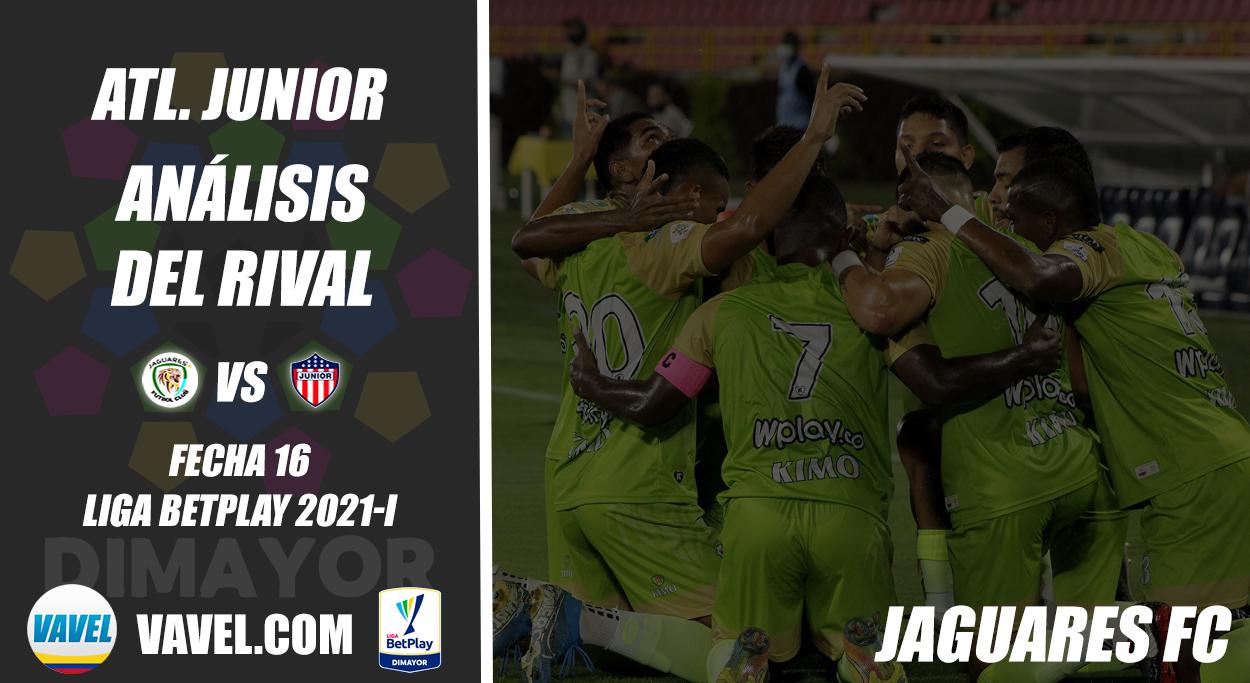 Junior de Barranquilla, análisis del rival: Jaguares de Córdoba (Fecha 16, Liga 2021-I)