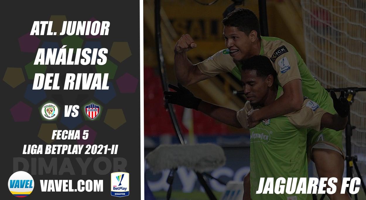 Junior de Barranquilla, análisis del rival: Jaguares de Cordoba (Fecha 5, Liga 2021-II)
