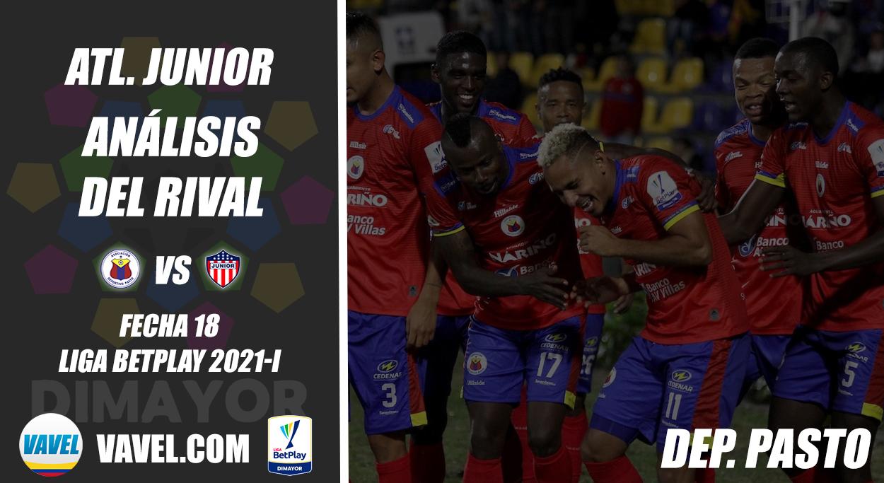 Junior de Barranquilla, análisis del rival: Deportivo Pasto (Fecha 18, Liga 2021-I)