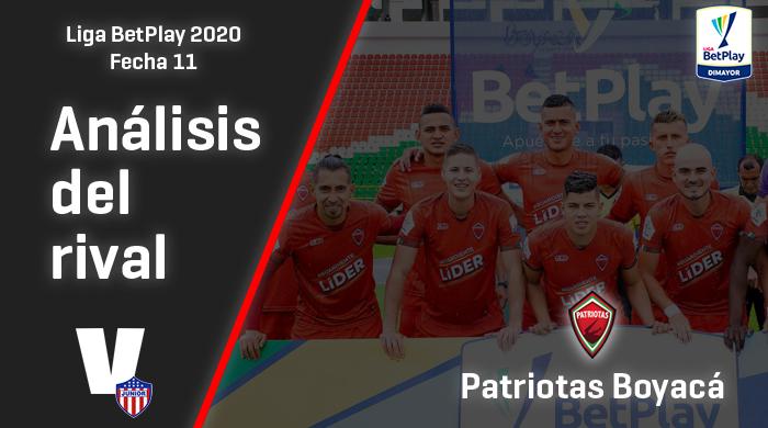 Junior de Barranquilla, análisis del rival:   Patriotas Boyacá (Fecha 11, Liga 2020)