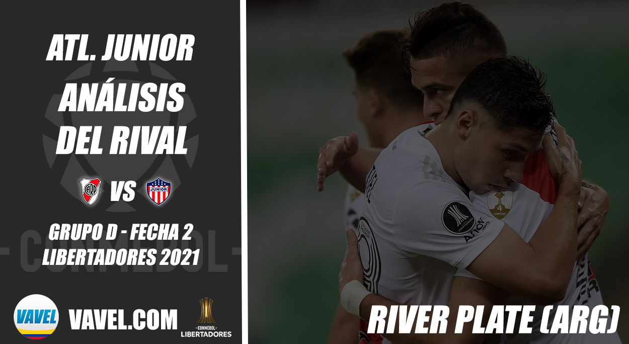 Junior de Barranquilla, análisis del rival: River Plate (Fecha 2 - Grupo D, Libertadores 2021)
