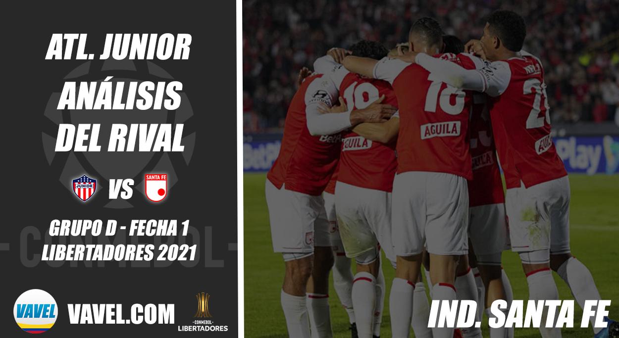 Junior de Barranquilla, análisis del rival: Independiente Santa Fe (Fecha 1 - Grupo D, Libertadores 2021)