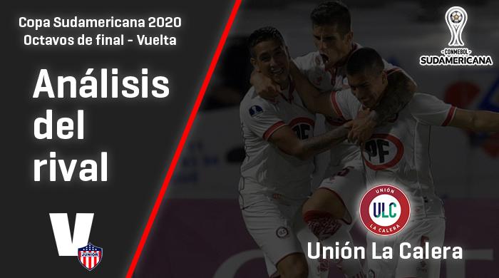 Junior, análisis del rival: Unión La Calera (Octavos de final - Vuelta, Sudamericana 2020)
