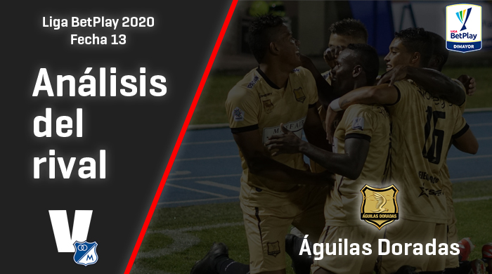 Millonarios, análisis del rival: Águilas Doradas (Fecha 13, Liga 2020)