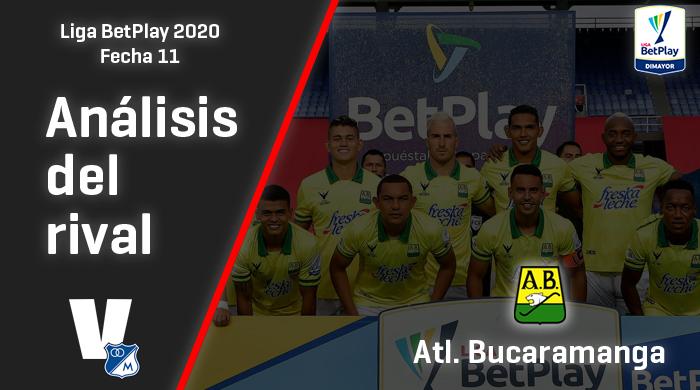 Millonarios, análisis del rival: Atlético Bucaramanga (fecha 11, Liga 2020)