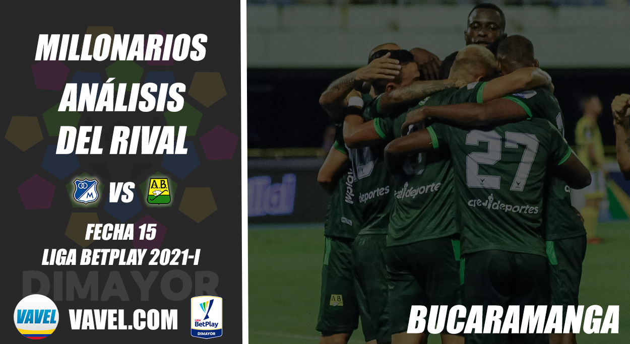 Millonarios, análisis del rival: Atlético Bucaramanga (Fecha 15, Liga 2021-I)
