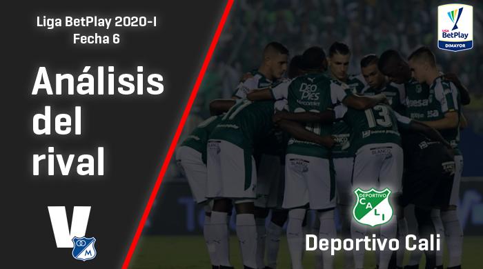 Millonarios, análisis del rival:   Deportivo Cali (Fecha 6, Liga 2020-I)