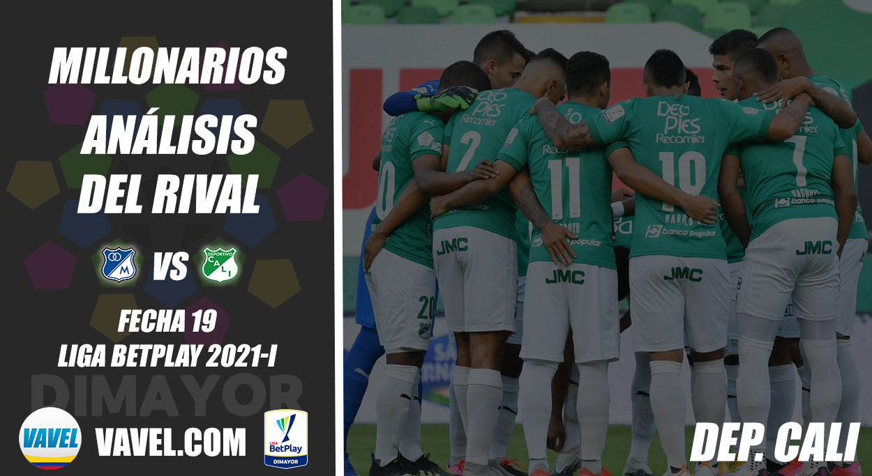 Millonarios, análisis del rival: Deportivo Cali (Fecha 19, Liga 2021-I)