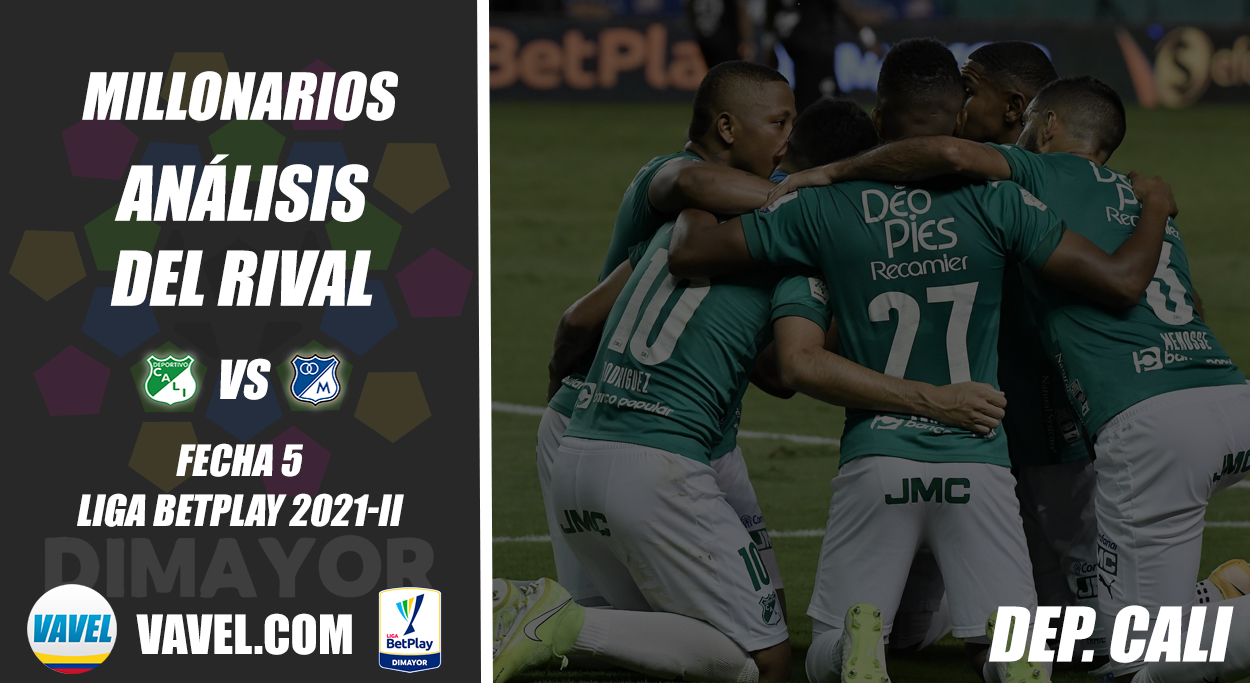 Millonarios, análisis del rival: Deportivo Cali (Fecha 5, Liga 2021-II)