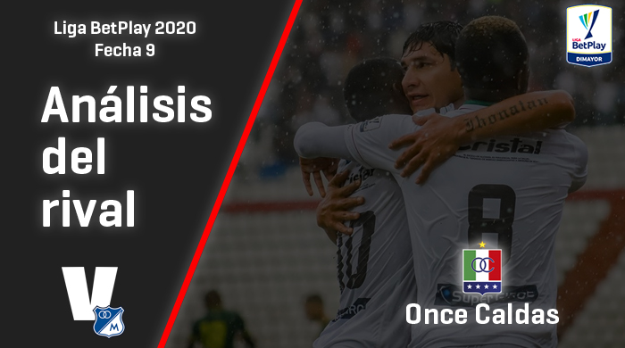 Millonarios, análisis del rival: Once Caldas (Fecha 9, Liga 2020)