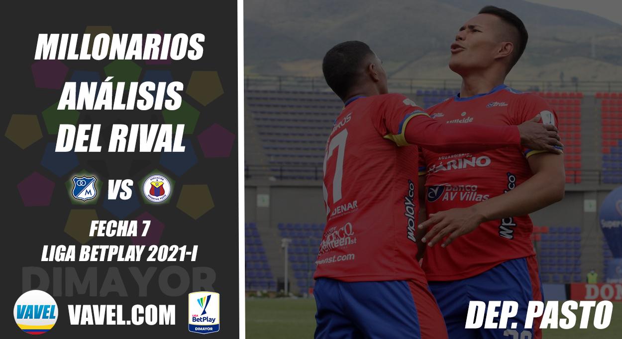 Millonarios, análisis del rival: Deportivo Pasto (Fecha 7, Liga 2021-I)
