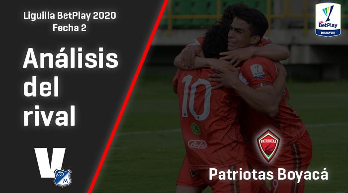 Millonarios, análisis del rival: Patriotas Boyacá (Fecha 2 - Liguilla 2020)