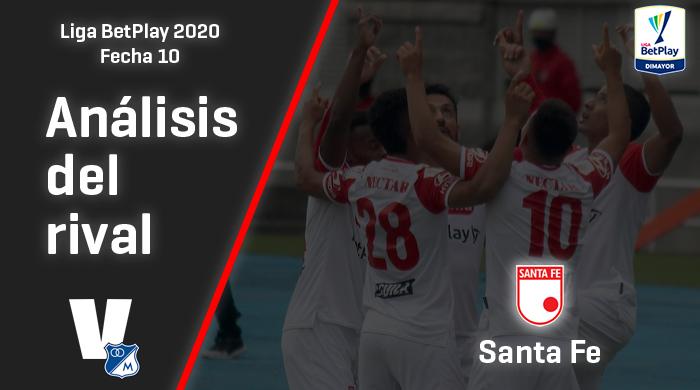 Millonarios, análisis del rival: Independiente Santa Fe (Fecha 10, Liga 2020)