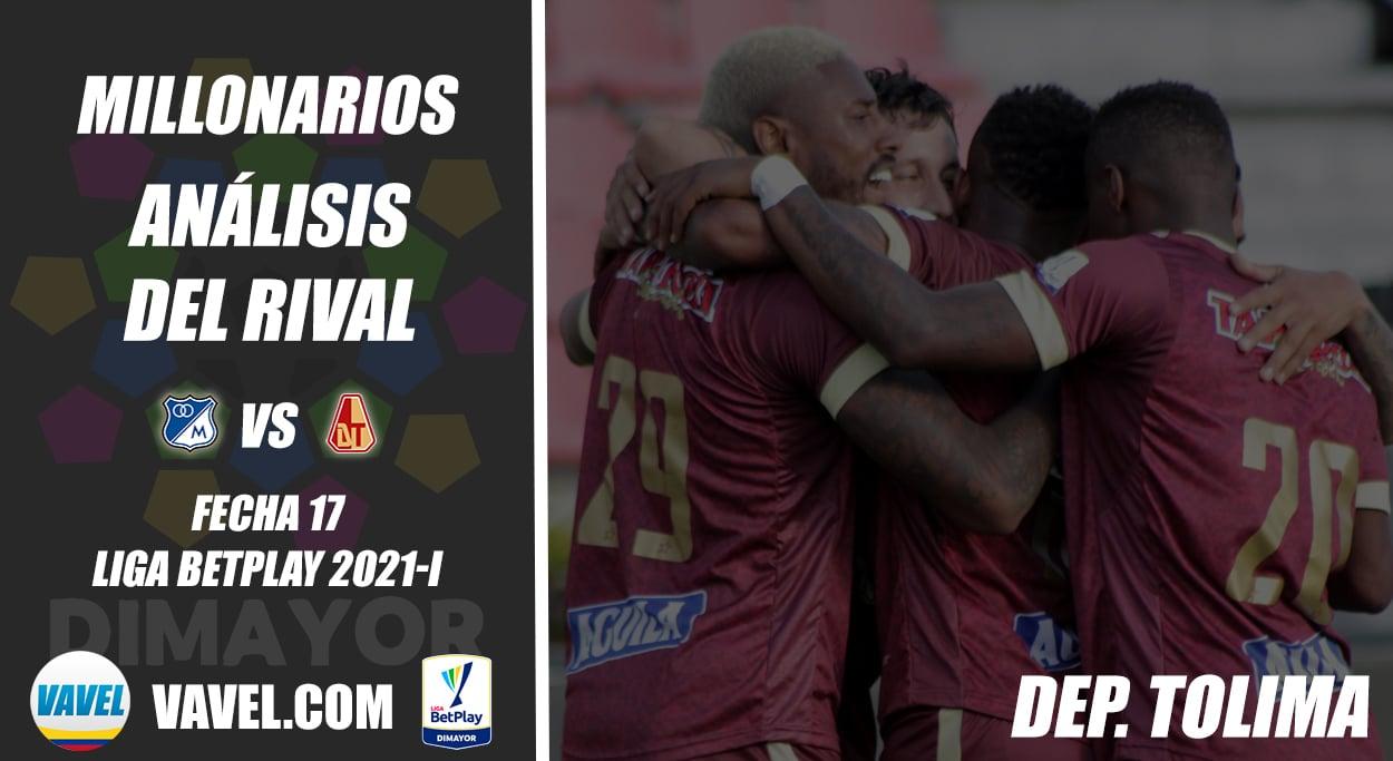 Millonarios, análisis del rival: Deportes Tolima (Fecha 17, Liga 2021-l)