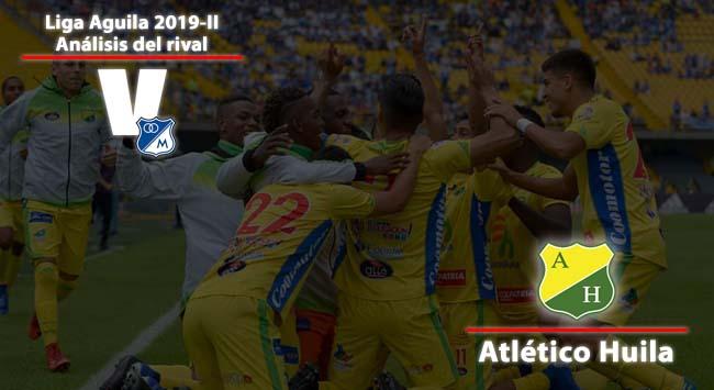 Millonarios,análisis del rival: Atlético Huila