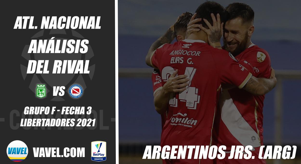 Atlético Nacional, análisis del rival: Argentinos Juniors (Fecha 3 - Grupo F, Libertadores 2021)