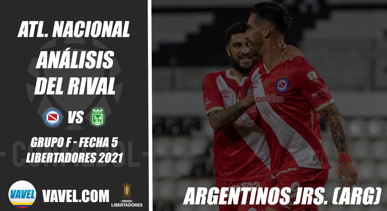 Atlético Nacional, análisis del rival: Argentinos Juniors (Fecha 5 - Grupo F, Libertadores 2021)