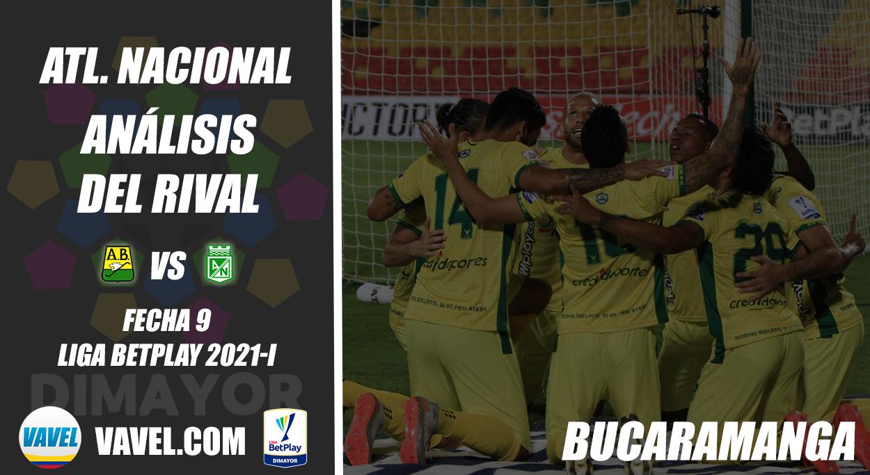 Atlético Nacional, análisis del rival: Atlético Bucaramanga (Fecha 9, Liga 2021-I)