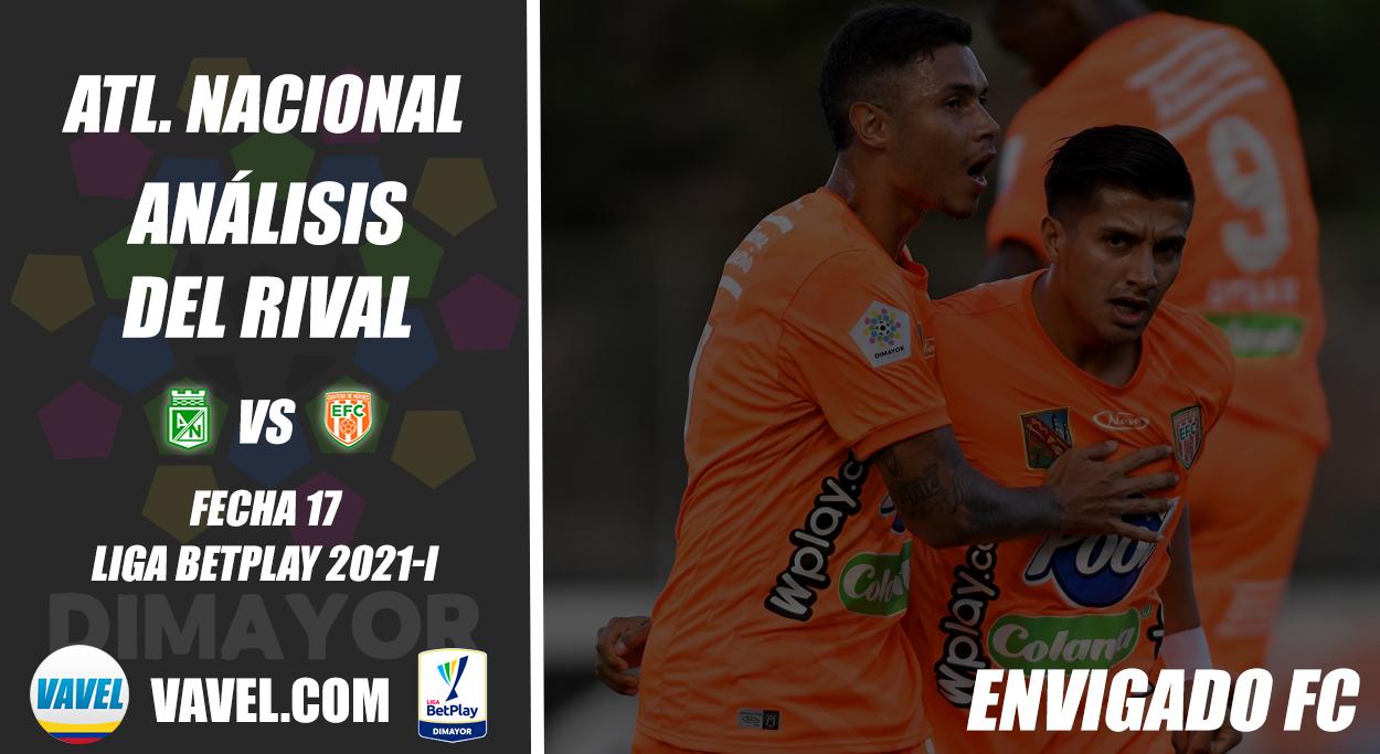 Atlético Nacional, análisis del rival: Envigado F.C. (Fecha 17, Liga 2021-I)