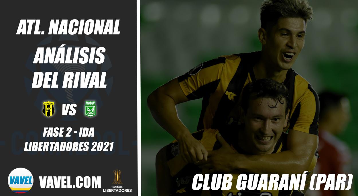 Atlético Nacional, análisis del rival: Club Guaraní (Fase 2 - ida, Libertadores 2021)