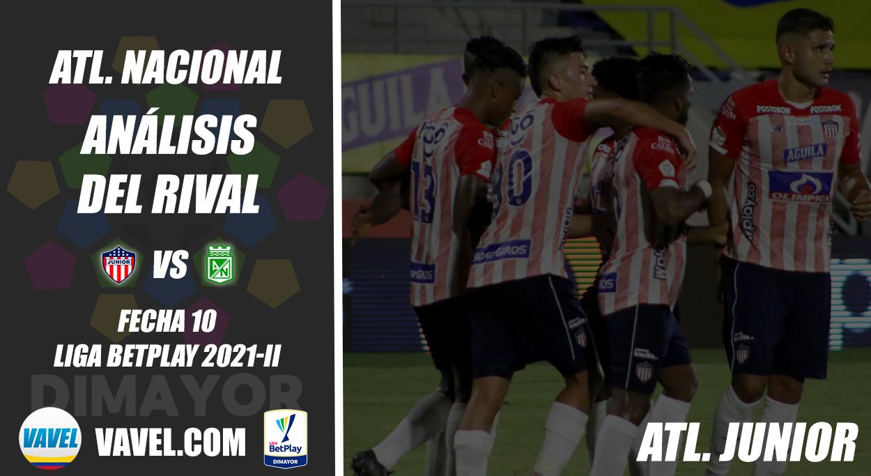 Atlético Nacional, análisis del rival: Junior de Barranquilla (Fecha 10, Liga 2021-II)