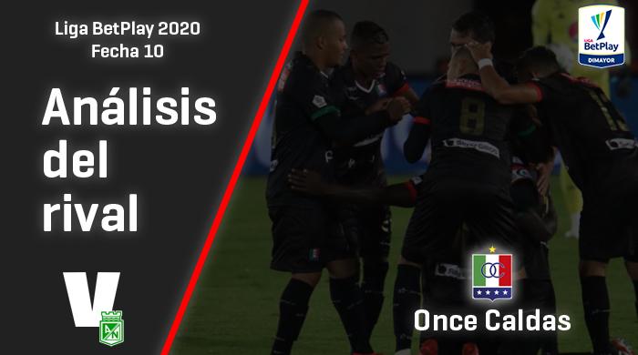 Atlético Nacional, análisis del rival: Once Caldas (Fecha 10, Liga 2020)