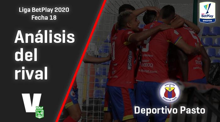 Atlético Nacional, análisis del rival: Deportivo Pasto (Fecha 18, Liga 2020)